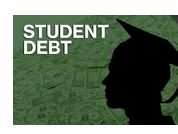 student with debt