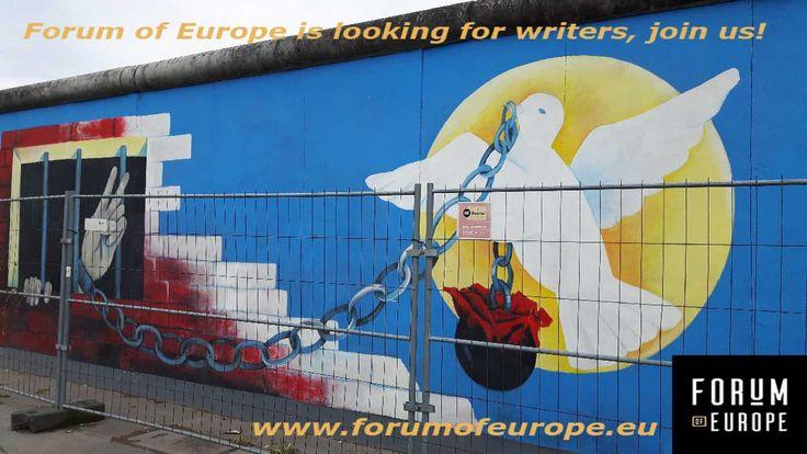 Hi, we are looking for writers for our website! Send us a message if you're interested! www.forumofeurope.eu  #writers #blogger #blog #website #culture #humaninterest #europe #eu #art #architecture #food #music #design #nederland #belgie #france #deutschland #italia #italy #espana #spain #greece #poland #ukraine #czech #hungary #serbia #croatia #romania #bulgaria #baltic