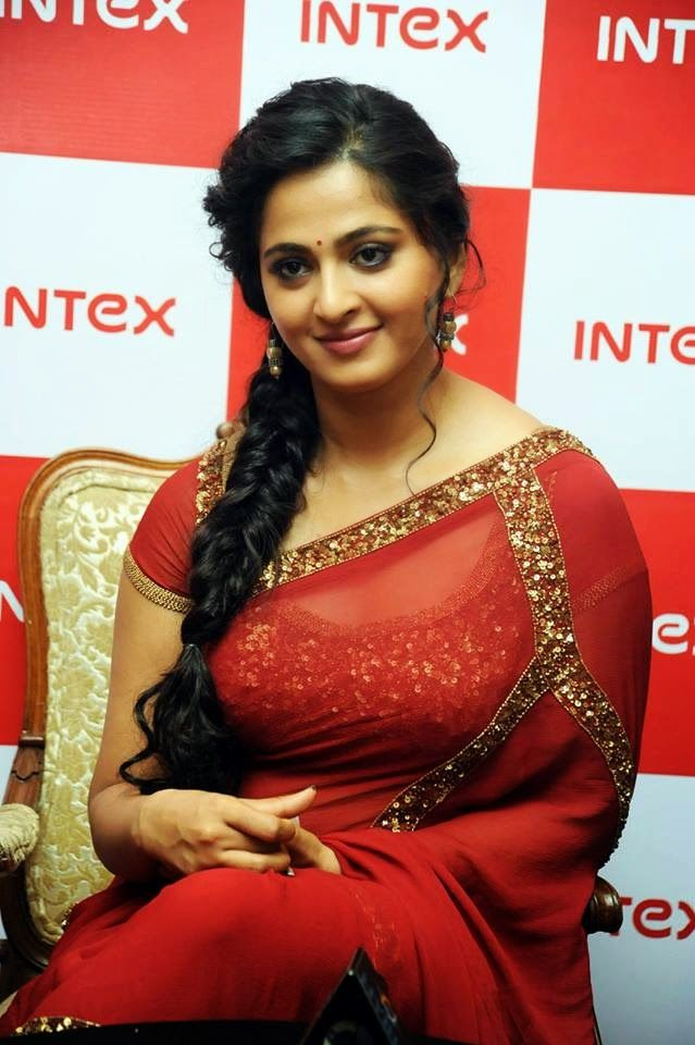 Anushka Shetty- anushka,anushka hot,anushka photos,Latest News,movies,Wallpapers,Photos, Videos: At Intex Aqua Smartphone Launch