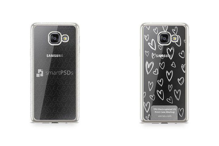 Samsung Galaxy A3 2016 Tpu Electroplated Case Mock Up 66703 Mockups Design Bundles Samsung Galaxy A3 Electroplating Galaxy