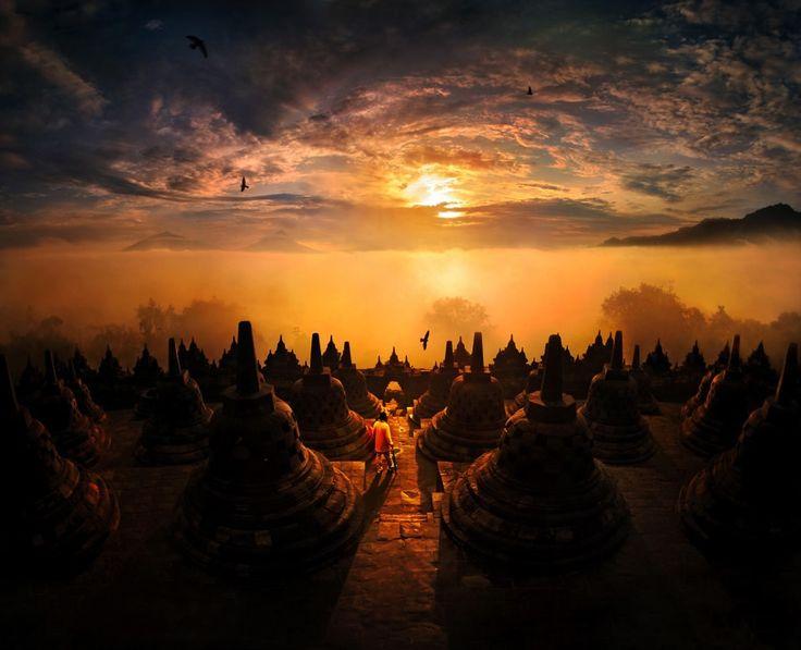 Фантастические пейзажи Weerapong Chaipuck