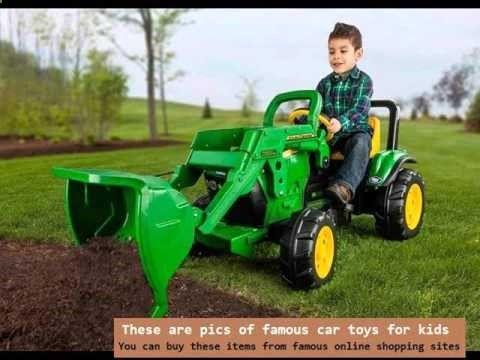 Kids Battery Cars | Ride On Toys John Deere Tractor Battery ...