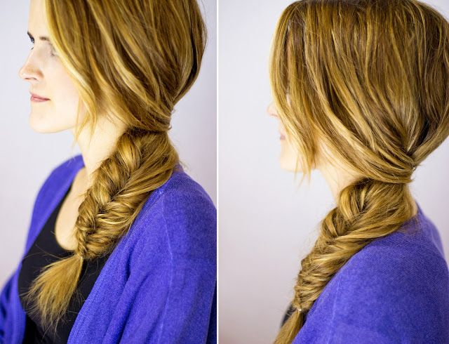 Hair and Make-up by Steph: Video Tutorial - Fancy Fishtail Braid