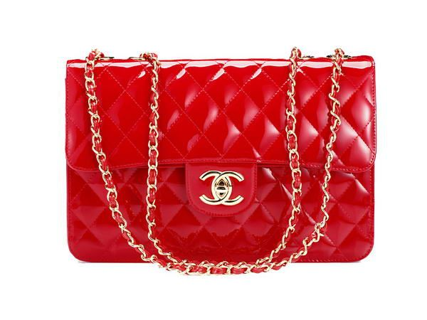 chanel red handbag - Google Search