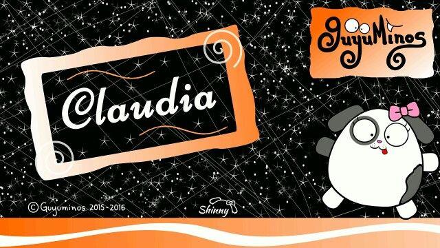 Sabías que Claudia es un nombre muy popular,  deriva de Claudio (Claudius) que proviene del Latín  (Claudico) que significa  Vacilar, Cojear. :D  Puedes participar en https://youtu.be/z6_J5toEopo #claudia #significado #nombres #guyuminos