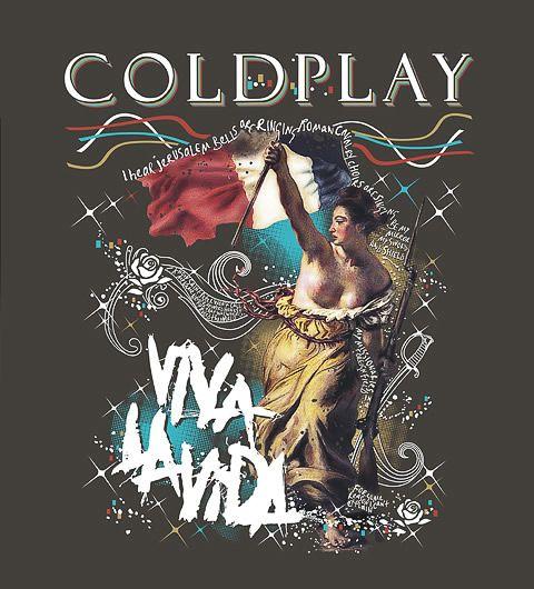 Camisa Coldplay
