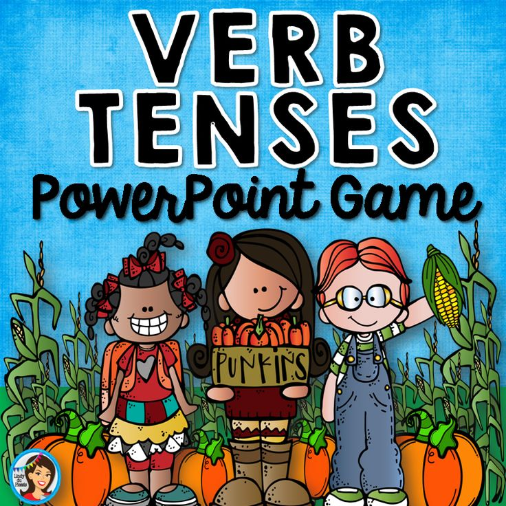 Verb Tenses PowerPoint Game - The fun way to review verb tenses!