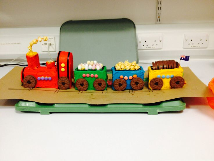 Train Cake - Australian Women's Weekly Birthday Book