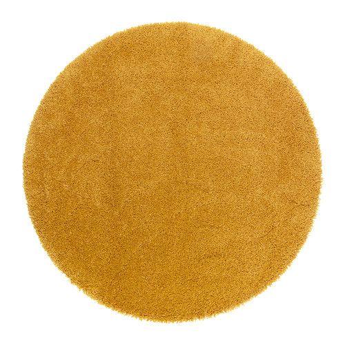 IKEA - ÅDUM, Alfombra, pelo largo, El pelo denso y grueso amortigua el sonido y proporciona una superficie suave y blanda para los pies.Al estar hecha de fibras sintéticas, la alfombra no se mancha y es resistente y fácil de mantener.