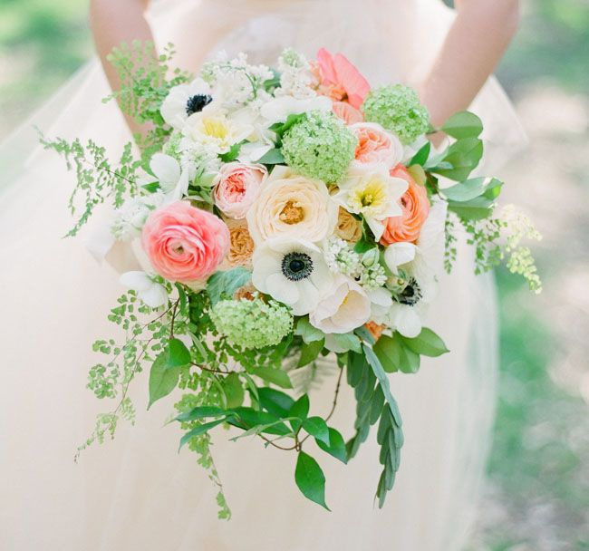 Pretty Spring Bouquet: Polka Dots, Green Wedding Shoes, Wedding Bouquets, Spring Wedding, Spring Bouquets, Pretty Bouquets, Floral Bouquets, Green Weddings, Summerspring Styled 02