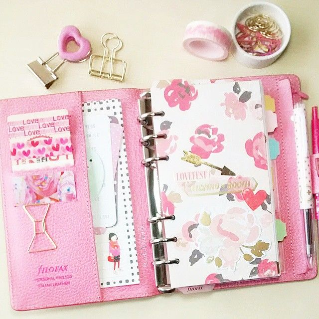 carladetaboada: Feb Planner, my personal size #febplannerchallengelove #websterspages #cratepaper