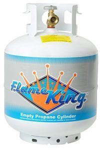 Flame King 20 lb Propane Cylinder – $27.98 + Free Shipping, Best Price #bbq