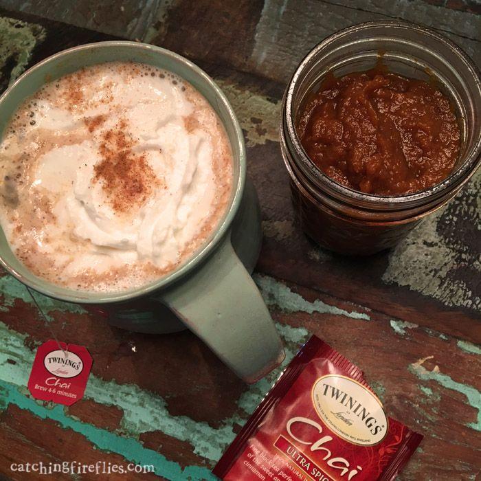 more psl please   creative gift ideas & news at catching fireflies   homemade pumpkin spice tea latte