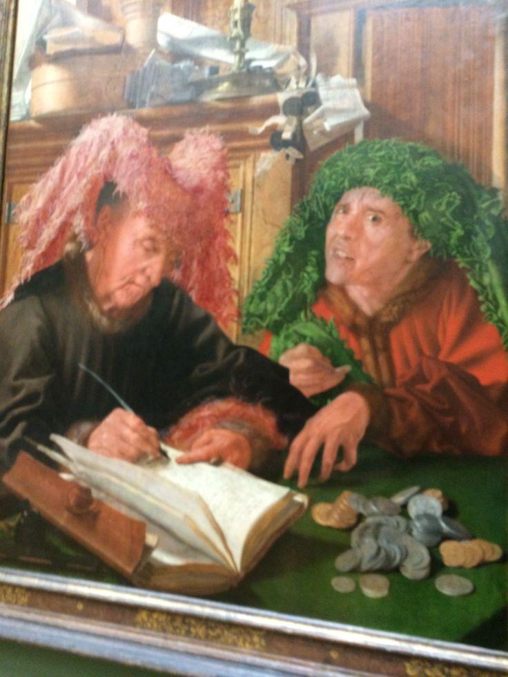 Strange  Nicholas Cage  Look - alike The  Tax Collectors   1500