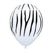 Zebra Print Balloon | Jungle Animal Party Theme and Supplies