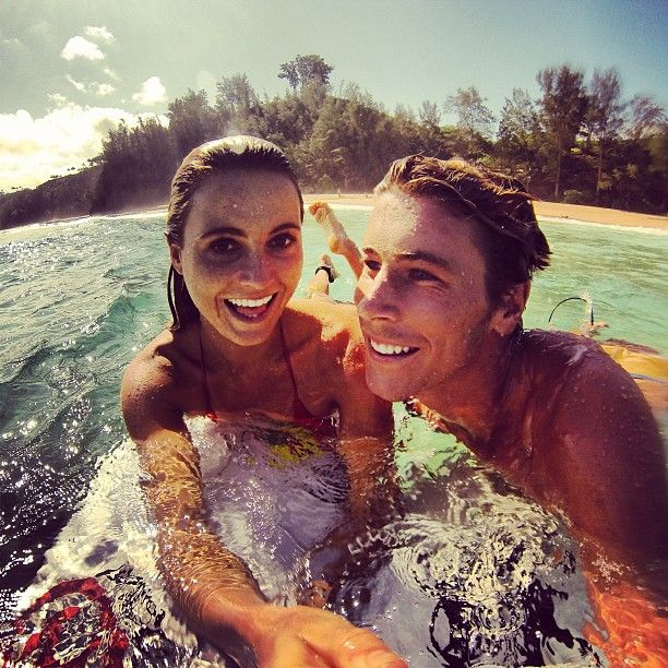 My perfect Valentine's Day would be spending the day in the ocean, with a Valentine or with friends!