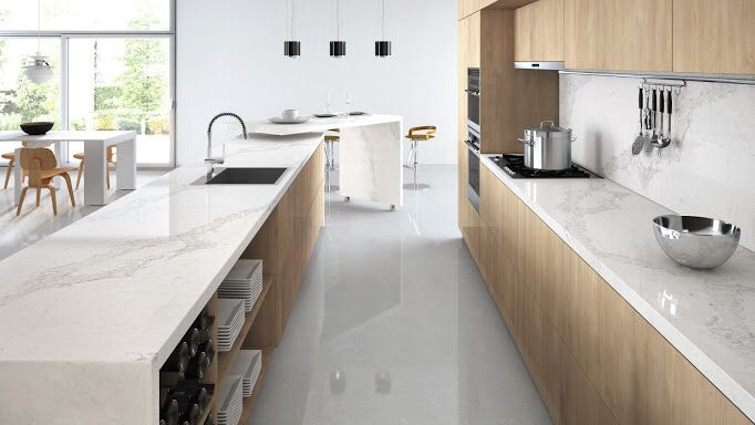 Calacatta nuvo ceasarstone look of marble but so much more affordable!!!