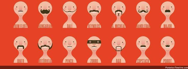 Tipos de bigotes...