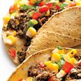 Black Bean Tacos with Corn Salsa - with rolled oats and cornmeal for heartiness.Mr. Tacos, Vegan Recipe, Shops Lists, Corn Salsa, Salsa Recipe, Vegan Meals, Eating Healthy, Mr. Beans, Black Beans Tacos