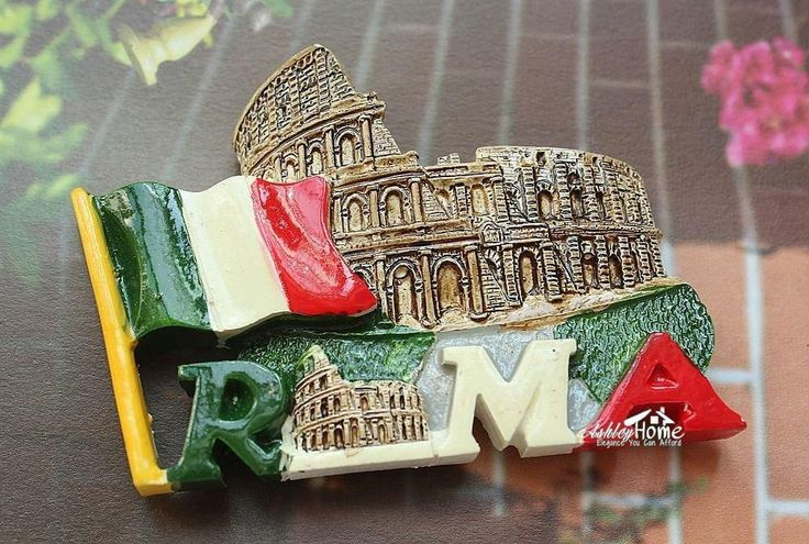 Italy Roma Souvenir Fridge Magnet