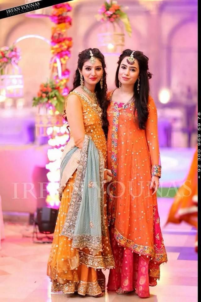 Lehenga For Mehndi Ceremony : Best images about pakistani brides on pinterest