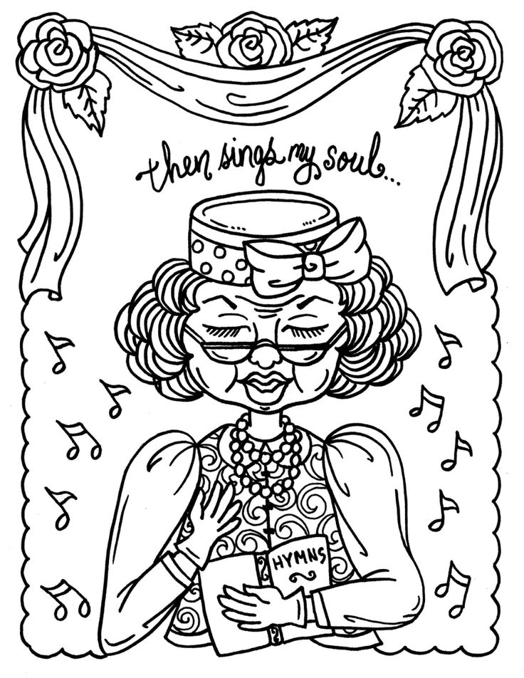 40+ Church coloring pages for adults information