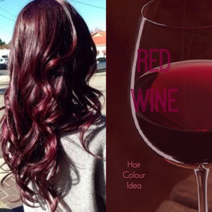 Red Wine Hair Colour #redhair #burgundyhair #haircolour