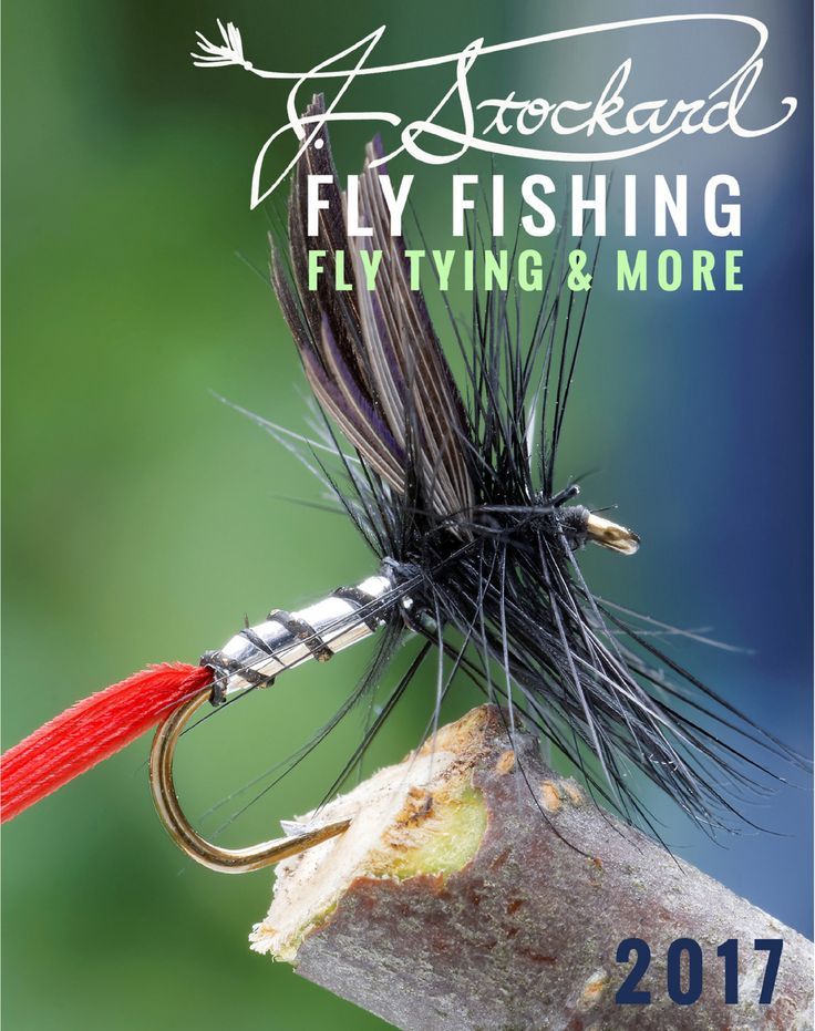 J. Stockard Fly Fishing 84-page full color catalog for 2017 featuring fly tying materials, supplies and tools, fly line and other fly fishing gear.