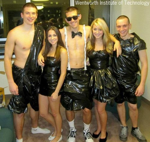 ABC party = anything but clothes... Just in case this comes up again....