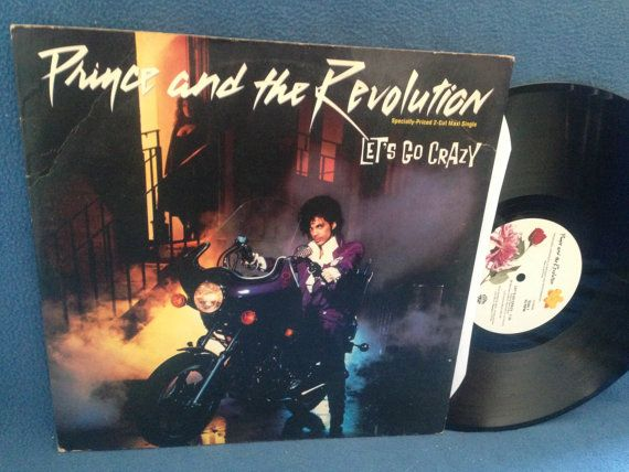 Vintage Prince  Let's Go Crazy / Erotic City 12 by sweetleafvinyl