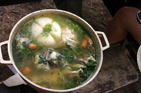 Ukrainian fish soup