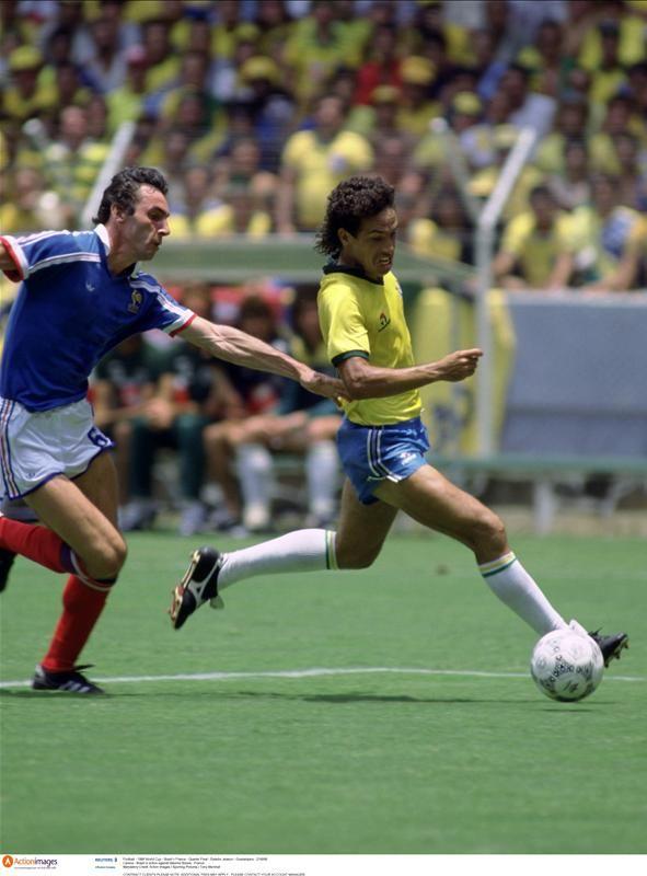 June 21, 1986, World Cup, France 1-Brazil 1