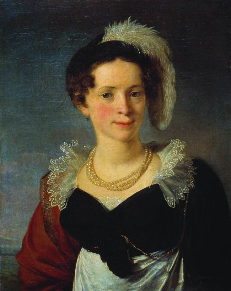 Vasily Tropinin - Countess Natalia Morkova
