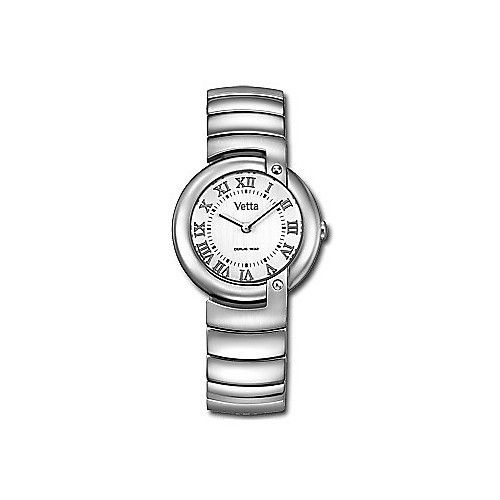 Orologio Acciaio Donna Analogico Solo Tempo Wiler Vetta Paris VW0089