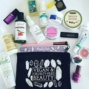 Vegan beauty products from Vegan Cuts. | 29 Awesome Things You Didn't Know You Could Subscribe To