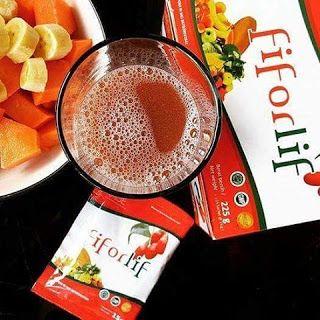 """FIFORLIF   FIFORLIF  Fiforlif  Super Fiber BERNUTRISI  Goji Berry untuk DETOX & Atasi masalah Pencernaan  Fiforlif adalah Super Fiber yang kaya akan serat bernutrisi guna untuk membersihkan usus dari segala racun/toxin yang mengerak dalam usus Fiforlif juga memberikan nutrisi lengkap untuk tubuh dengan Kandungan Fiforlif yang luar biasa yaitu """"ekstrak buah Goji Berry (buah dengan kandungan antioksidan tertinggi di dunia) sayur-sayuran dan v premix"""" yang sangat dibutuhkan oleh tubuh.  Ijin…"""
