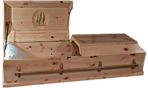 Pine Box Caskets Plans | made casket, craftsman casket, cheap casket, high quality casket ...