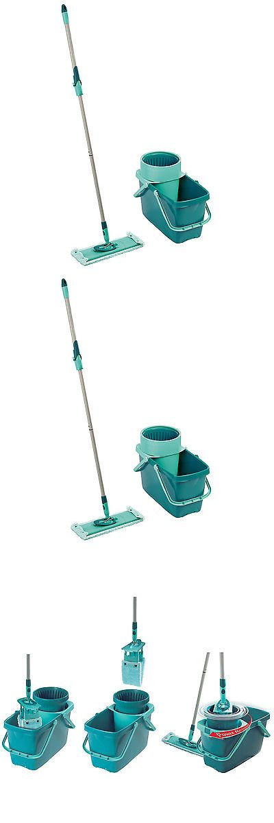 Mops and Brooms 20607: Household Essentials Leifheit Clean Twist Xl Rectangle Mop And Sweeper Set -> BUY IT NOW ONLY: $68.49 on eBay!