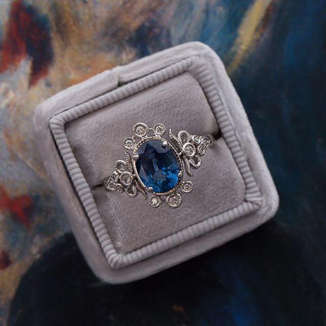 Lovely Gemstones Engagement rings | Heart Lovely - wedding, fashion, lifestyle