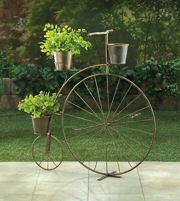 Old Fashion. Bicycle Plant Stand