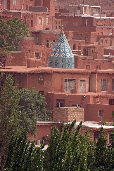 Abyaneh et son sanctuaire - Iran Santuario in Abyaneh - Iran