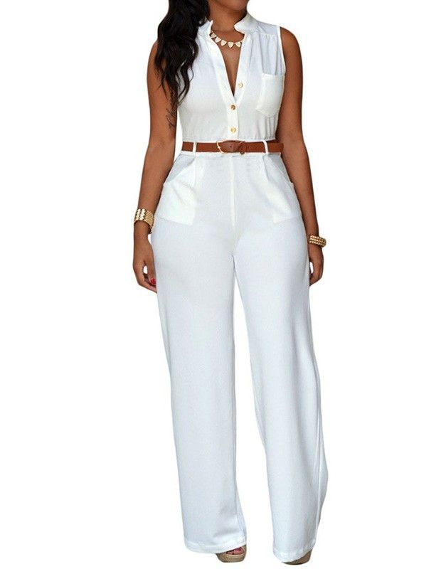 Gender: Female Age Group: Adult Color:white Pattern: Solid Color Material: milk fiber FadCover provides huge latest and most fashionable selections of fashion jumpsuits and rompers for women and girls
