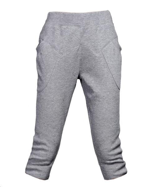 Grey Sport Hareem Trousers  from Chicnova