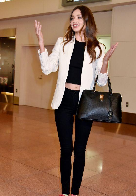 Miranda Kerr at Tokyo International Airport in Japan - April 2015