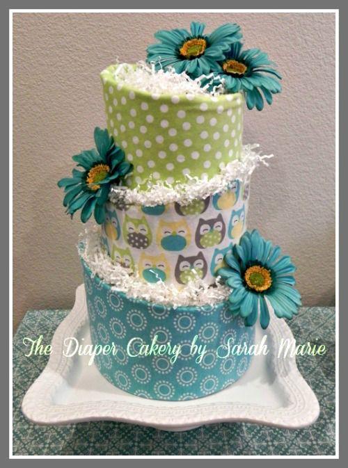 Topsy Turvy Diaper Cake By Thom