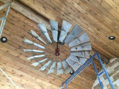 Vintage Windmill Ceiling Fan (call to check availability)