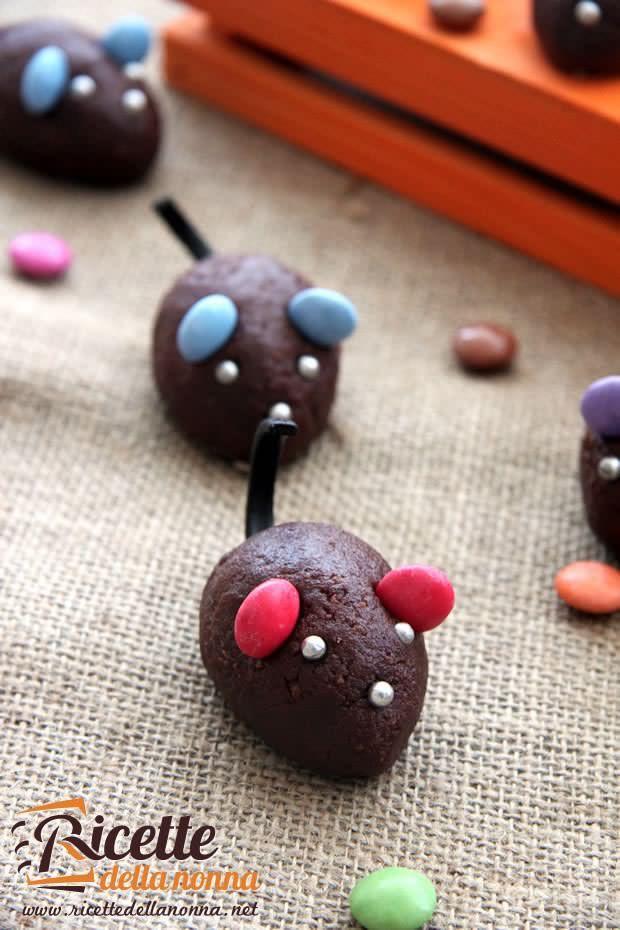 Foto Topini al cioccolato di Halloween