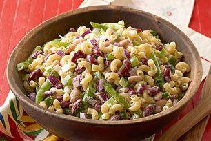 Three-Bean Macaroni Salad Image 3