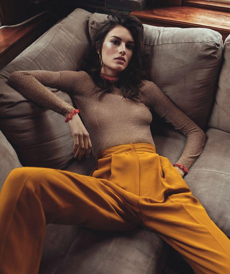 Photography: Andreas Ortner Styled by: Sophia Costima Hair: Bert Kietzerow Makeup: Steffi Willmann Model: Ronja Furrer @IMG Models