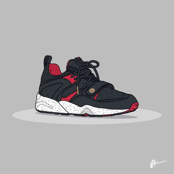 """Highsnobiety x KITH x Puma """"A Tale of Two Cities"""" sneaker art by @kickposters by highsnobiety #SoleInsider"""